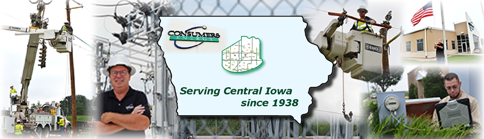 Consumers territory in Iowa